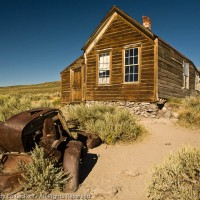 A House in the Ghost Town of Bodie, California