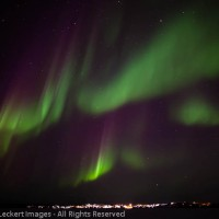 Aurora Over Yellowknife, Northwest Territories, Canada