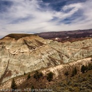 Blue Basin Badlands, John Day Fossil Beds National Monument, Oregon