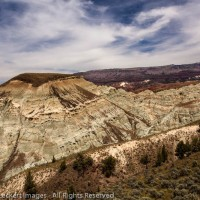 Blue Basin Badlands, John Day Fossil Beds National Monument, Oregon