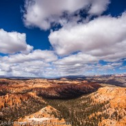 Clouds over Bryce Canyon, Bryce Canyon National Park, Utah