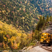 Conway Scenic Railroad, Crawford Notch, New Hampshire