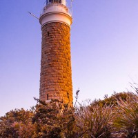 Eddystone Point Lighthouse, Mount William National Park, Tasmania, Australia