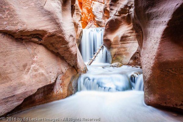 Falls in Kanarra Creek, Kanarraville, Utah