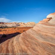 Fire Wave Landscape, Valley of Fire State Park, Nevada