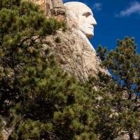 George, Mount Rushmore National Memorial, South Dakota