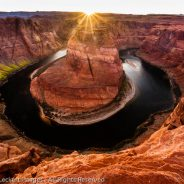 Horseshoe Bend at Sunset, Page, Arizona