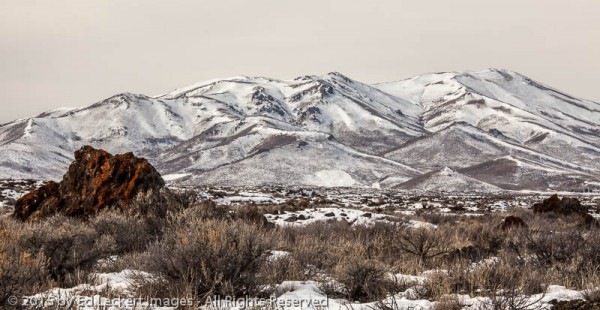 Idaho Landscape, Craters of the Moon National Monument, Idaho