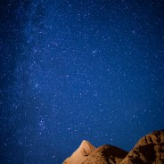 Milky Way over the Badlands, Badlands National Park, South Dakota