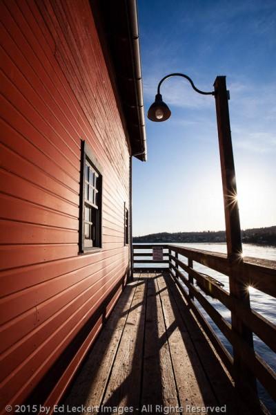 Morning at the Pier, Coupeville, Washington