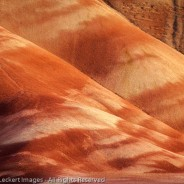 Painted Hills in Afternoon Light, John Day Fossil Beds National Monument, Oregon