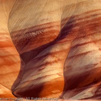 Painted Hills of Light, John Day Fossil Beds National Monument, Oregon