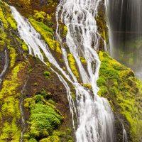Panther Creek Close-Up, Panther Creek Falls, Columbia River Gorge, Washington