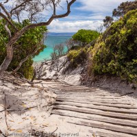 Stairway to Good Times, Freycinet National Park, Tasmania, Australia