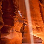Sunbeam, Upper Antelope Canyon, Page, Arizona