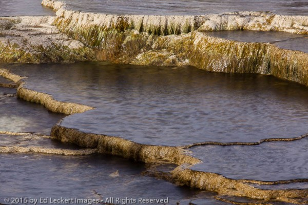 Travertine Cliffs, Yellowstone National Park, Wyoming