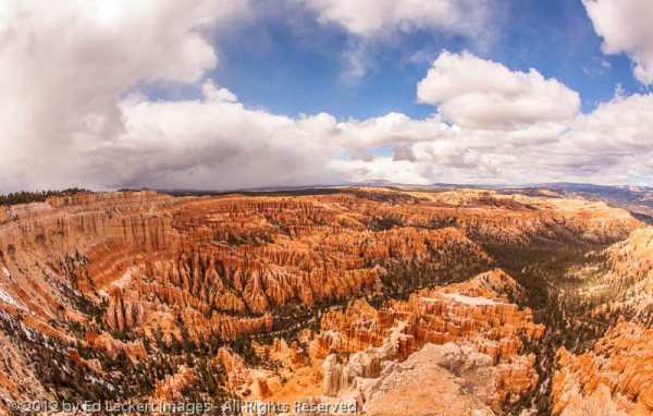 View from Bryce Point, Bryce Canyon National Park, Utah