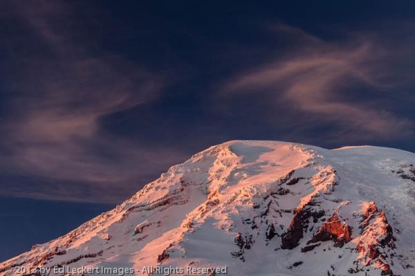 Dances with Clouds, Mount Rainier National Park, Washington
