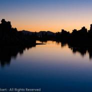 Dawn at South Tufa, Mono Lake Tufa State Reserve, California