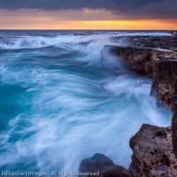 Ho'Okena Beach at Sunset, Ho'Okena Beach Park, Captain Cook, Hawaii