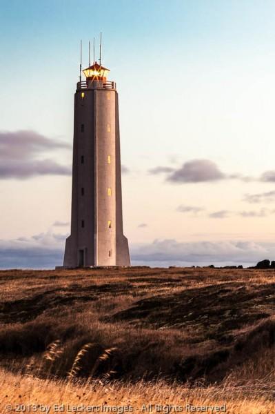 LIghthouse at Malarrif, West Iceland