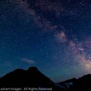 Milky Way From Hidden Lake Overlook, Glacier National Park, Montana