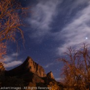 The Watchman by Moonlight, Zion National Park, Utah