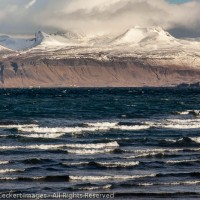 Waves and Mountains, Snaefellsnes Peninsula, Iceland